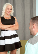 First, Veronica fucks our stud. Her mother fucks next. - Veronica Vaughn and Tony Rubino (41 Photos) - 40 Something