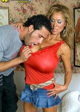 Minka's 40somethingmag.com Debut! - Minka and Carlos Rios (68 Photos) - 40 Something