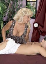 Julia Butt: MILF masseuse - Julia Butt and Mikey Butders (75 Photos) - 50 Plus MILFs
