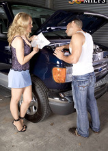 Ass-fucked on the garage floor - Robin Pachino and Mikey Butders (65 Photos) - 50 Plus MILFs