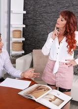 Beau Diamonds' hands-on sex therapy lesson - Beau Diamonds (79 Photos) - 50 Plus MILFs