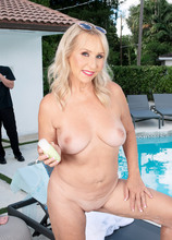 A beautiful day for Sandy's first XXX - Sandy Pierce and Oliver Flynn (105 Photos) - 50 Plus MILFs