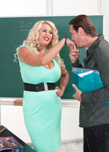 Busty boss Shannon Blue bangs her employee - Shannon Blue (100 Photos) - 50 Plus MILFs