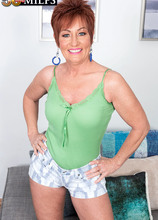 Young, black cock for MILF Ruby O'Connor - Ruby O'Connor and John Long (97 Photos) - 50 Plus MILFs