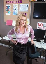 Three-way office anal - Amanda Verhooks, J Mac, and Jimmy Dix (65 Photos) - 50 Plus MILFs
