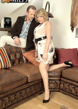 A British MILF's first time - Amy and George (48 Photos) - 50 Plus MILFs
