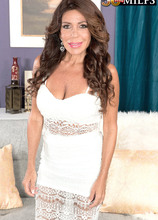 First-timer Layla is quiet, but she's a great fuck - Layla LaMora and Tony Rubino (44 Photos) - 50 Plus MILFs