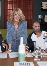 How to suck dick in business while really fucking - Jenna Covelli, Scarlet Andrews, Carlos Rios, and James Kickstand (42 Photos) - 50 Plus MILFs