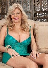 Big tits, pierced pussy, anal and a creampie, too! - Miss Deb and Tony Rubino (61 Photos) - 50 Plus MILFs