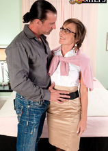 You won't believe what Lillian has jammed up her asshole - Lillian Tesh and Tony D'Sergio (54 Photos) - 50 Plus MILFs