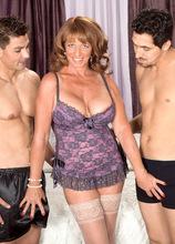 Ass-Fucked Times Two! - Sheri Fox, Juan Largo, and Sergio (55 Photos) - 50 Plus MILFs