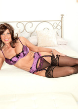 Now This Is Our Idea Of Fucking Research! - Trinity Powers and Juan Largo (61 Photos) - 50 Plus MILFs