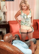 Connie Gets Her Chocolate Fucksicle - Connie McCoy and Lucas Stone (61 Photos) - 50 Plus MILFs