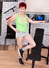 The Caroline Hamsel Workout - Caroline Hamsel (87 Photos) - 60 Plus MILFs