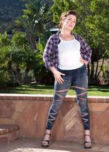 Fun in the great outdoors with Maria Fawndeli - Maria Fawndeli (80 Photos) - 60 Plus MILFs