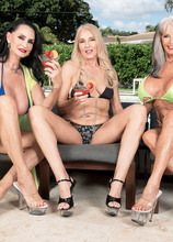Three GILFs, two cocks and Chery's first DP - Chery Leigh, Rita Daniels, and Sally D'Angelo (103 Photos) - 60 Plus MILFs