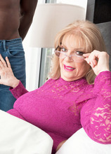 A 70-year-old GILF and a big, young, black cock - Crystal King and Jax Black (48 Photos) - 60 Plus MILFs