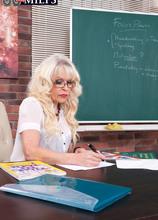 Fuck the teacher! - Lady S and Dillon (49 Photos) - 60 Plus MILFs