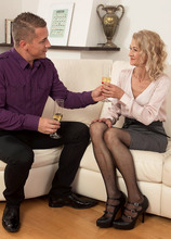 Anything a 20-year-old can do, Beata can do better - Beata and Steve Q (50 Photos) - 60 Plus MILFs