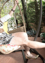 The yardman, Mona and a very hairy pussy - Mona and Rocky (41 Photos) - 60 Plus MILFs