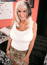 Lay down Sally and fuck her ass - Sally D'Angelo and Brad Knight (50 Photos) - 60 Plus MILFs