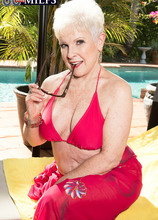 66-year-old Jewel and her son's 34-year-old friend - Jewel and Tony Rubino (44 Photos) - 60 Plus MILFs