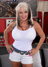 Finally 60, finally ass-fucked - Sally D'Angelo and Rocky (69 Photos) - 60 Plus MILFs