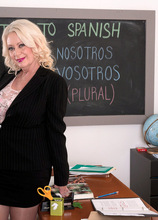 The principal is supposed to be your fuck pal - Angelique DuBois and Juan Largo (54 Photos) - 60 Plus MILFs