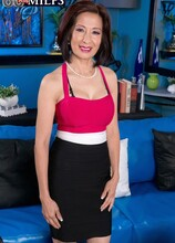 Our First Asian GILF Takes It Up The Ass! - Kim Anh and Tony Rubino (70 Photos) - 60 Plus MILFs