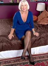 Ass-fucked devil with a blue dress - Jeannie Lou and Tony D'Sergio (60 Photos) - 60 Plus MILFs