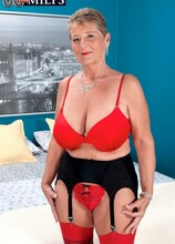 One For The Bucket List - Joanne Price and Juan Largo (45 Photos) - 60 Plus MILFs