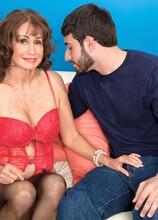 For Starters, A Creampie - Jacqueline Jolie and Al B (44 Photos) - 60 Plus MILFs