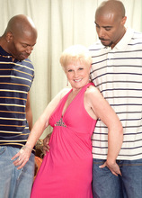 Black Cock For Jewel? Make It A Double! - Jewel, Asante Stone, and Lucas Stone (64 Photos) - 60 Plus MILFs