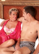 A Birthday Facial For Sandra Ann - Sandra Ann and Juan Largo (39 Photos) - 60 Plus MILFs