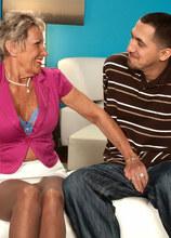 Our Oldest (And Most Popular) Milf Returns! - Sandra Ann and Juan Largo (35 Photos) - 60 Plus MILFs