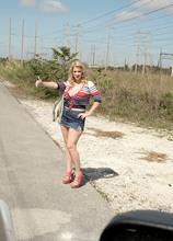The Busty Hitcher - Rockell (57 Photos) - Scoreland