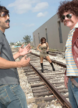 This Is A Bust - Sarah Sunshine, Carlos Rios, and J.T. (55 Photos) - Scoreland