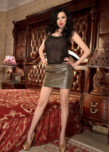 Slim Beauty's Overflowing Cups - Sha Rizel (60 Photos) - Scoreland