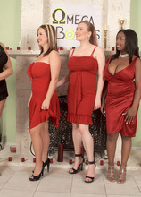 Pledges Orgy - April McKenzie, Gianna Rossi, Panther, Sabina Leigh, Tera Cox, Dutch Morgan, J.T., and Jordan Ashley (53 Photos) - Scoreland