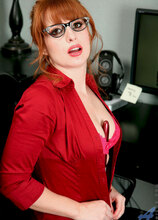 Anilos - Officefantasy featuring Amber Dawn. (Photos)