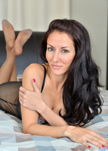 Anilos - Ready To Please featuring Olivia Bell. (Photos)