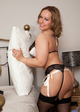 Anilos - Playing With Her Toy featuring Ashley Rider. (Photos)