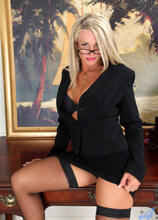 Anilos - Officefingers featuring Jena Jackson. (Photos)