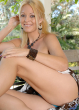 Anilos - Outdoor Self Pleasure featuring Charlee Chase. (Photos)