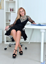 Anilos - Office Pleasure featuring Lili Peterson. (Photos)
