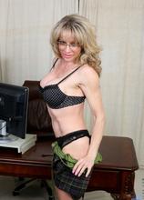 Anilos - Sexy Secretary featuring Elizabeth Green. (Photos)