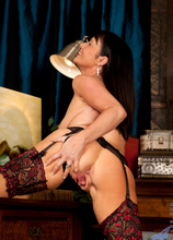 Anilos - Lady In Red featuring Elise Summers. (Photos)