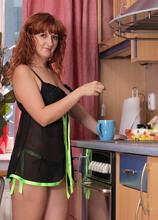 Anilos - Kitchenpleasure featuring Katia. (Photos)