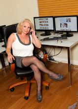 Anilos - Office Tits featuring Rachel Love. (Photos)
