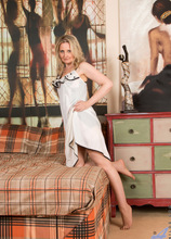 Anilos - Bedroom Tease featuring Emma Turner. (Photos)